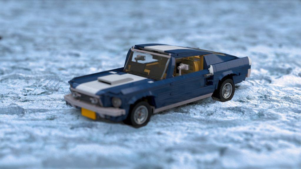 Série Lego : Mustang